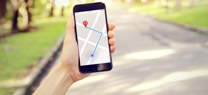 geolocalisation sur telephone portable